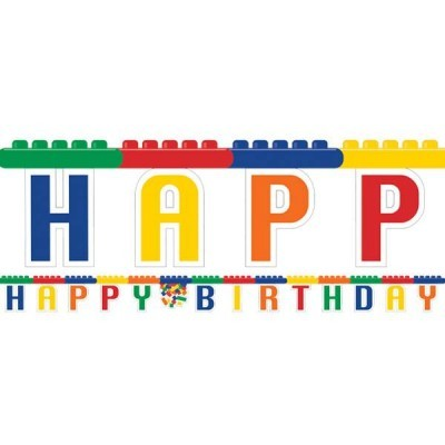 Grinalda Happy Birthday Lego