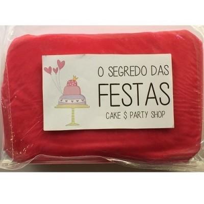 Pasta de Açúcar Rosa Choc