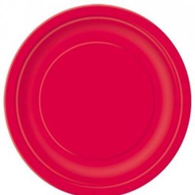 Pratos Vermelho Grandes