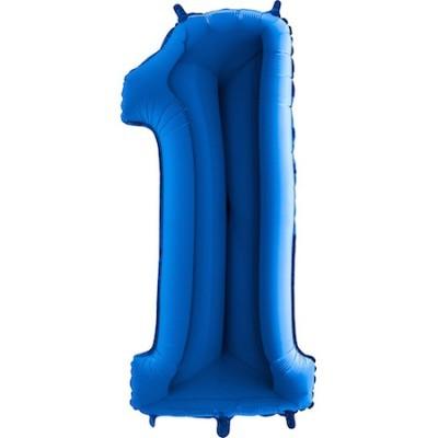 Balão Gigante 1 Azul Escuro