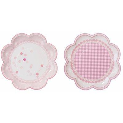 Pratos Rosa Pink Mix
