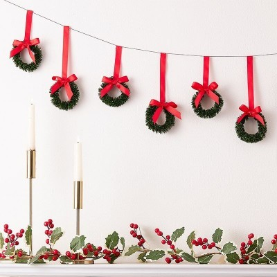 Grinalda Coroas de Natal