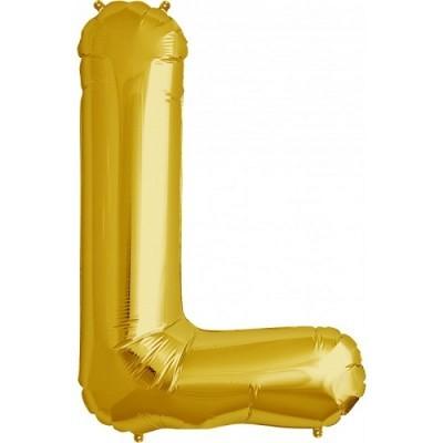 Balão L Dourado