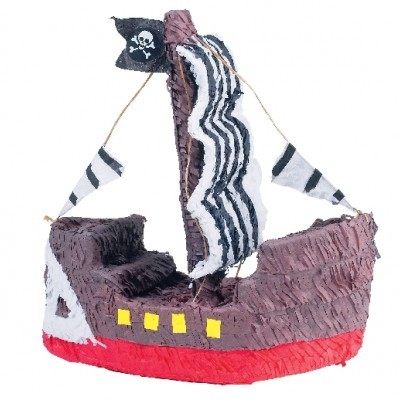 Pinhata 3D Barco Pirata