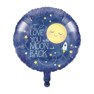 To the Moon and Back Balão Médio