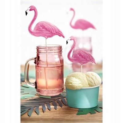 Topos de Bolo Flamingos