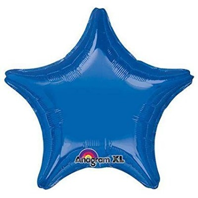 Balão Estrela Azul Escuro