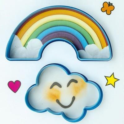 Conj. Cortadores Nuvem e Arco-Íris