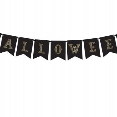 Bandeirolas Halloween Preta