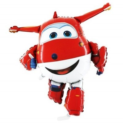 Super Wings Jett Balão