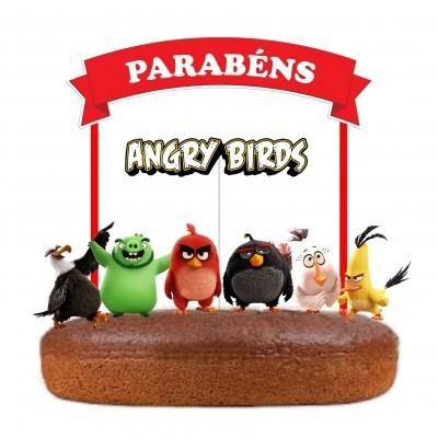 Topo Bolo Angry Birds
