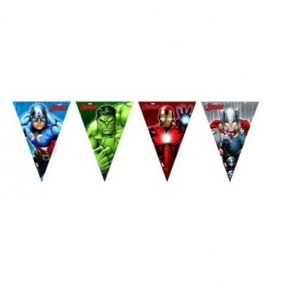 Bandeirolas Avengers
