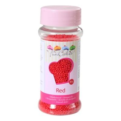 Mini Pérolas Vermelho