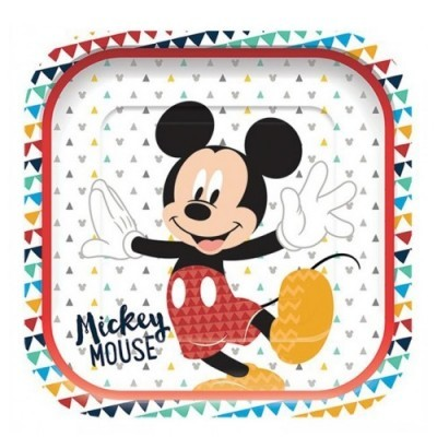 Pratos Servir Mickey