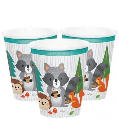 Copos Animais Bosque