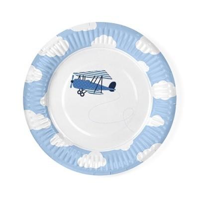 Pratos Aviões Little Plane