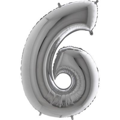 Balão Gigante 6 Prateado