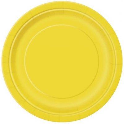 Pratos Amarelo Pequenos