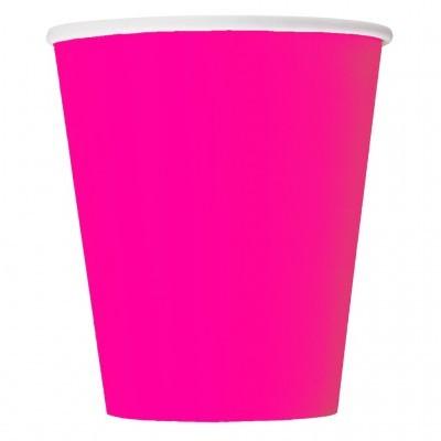 Copos Rosa Neon