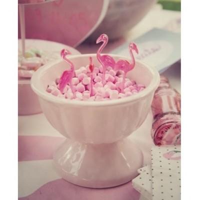 Palitos Flamingos Rosa