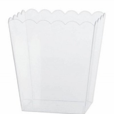 Taça Plástica Pipocas Pequena