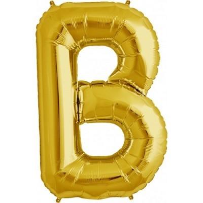 Balão B Dourado