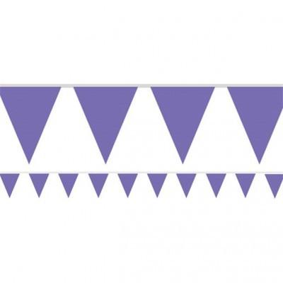 Bandeirolas Papel Roxo Lisas