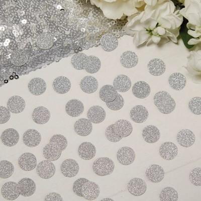Confetis Prateados Glitter