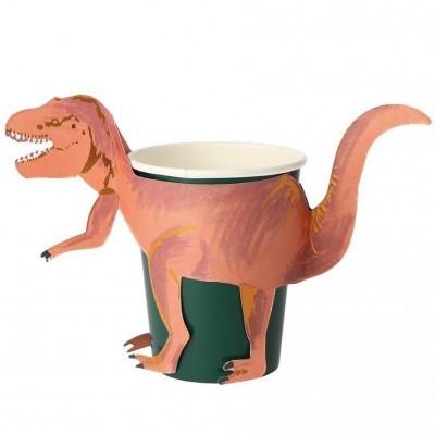 Copos Dinossauro T-Rex