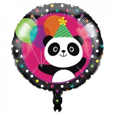 Panda Colorido Balão Médio
