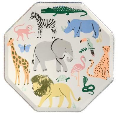 Pratos Safari