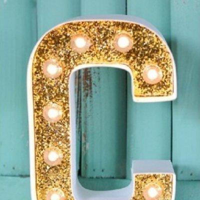 Letra Luminosa P