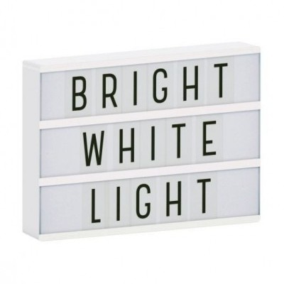 Lightbox A4 Branca