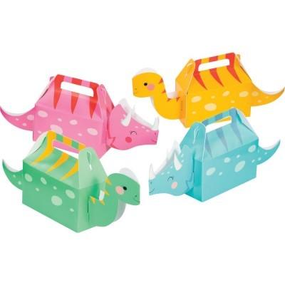 Conj. 4 Caixas Dinossauros