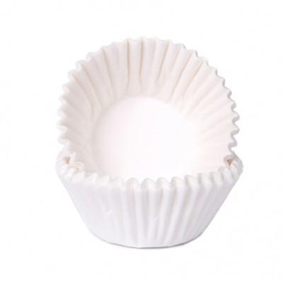 Conj. 100 Mini Forminhas Branco
