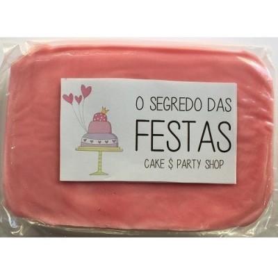 Pasta de Açúcar Rosa