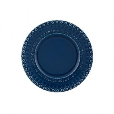 Prato Fruta Azul 22 cm