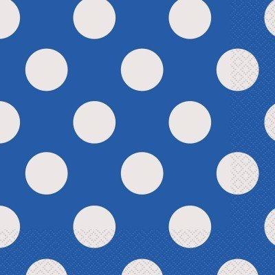 Guardanapos Azul Escuro Bolas