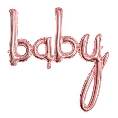 Balão Baby Rose Gold