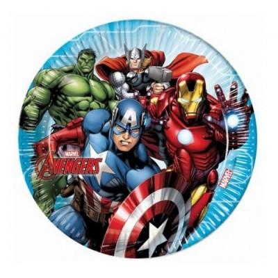 Pratos Avengers Grandes