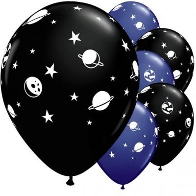 Conj. 5 Balões Espaço
