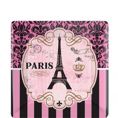 Pratos Festa Paris Pequenos