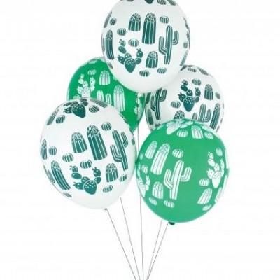 Balões Cactos