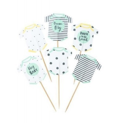 Conj. 12 Toppers Babygrow