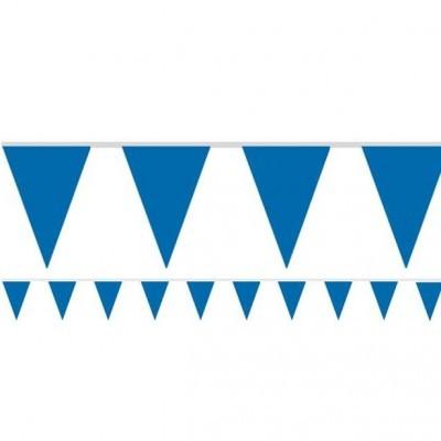 Bandeirolas Papel Azul Escuro Lisas