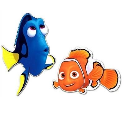 Conj. 2 Figuras Dory e Nemo