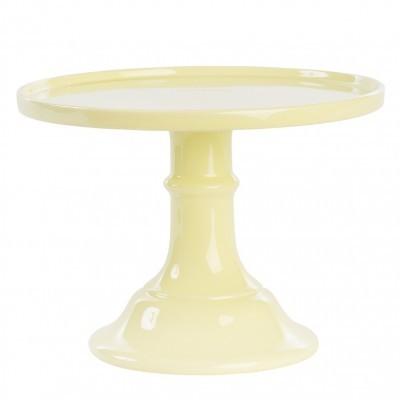 Boleira Lisa Amarelo Pastel Grande