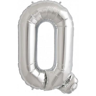 Balão Q Prateado
