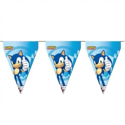Bandeirolas Sonic