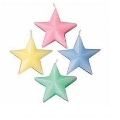 Velas Estrelas Pastel